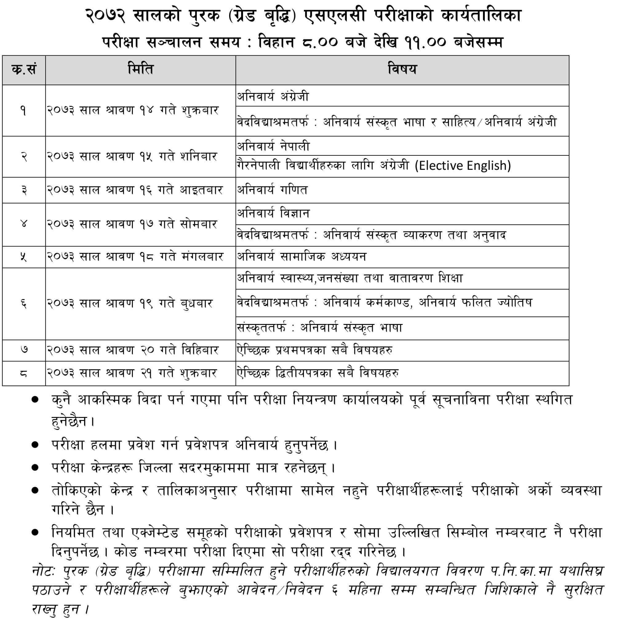 slc-supplementary-exam-routine-2073