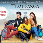 Timi sanga Nepali movie -Official Trailer released ft.Samragyee RL Shah, Aakash Shrestha, Nazir Husen