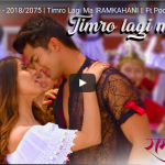 Timro Lagi Ma official music video from the movie RAMKAHANI ft. Pooja Sharma and Aakash Shrestha
