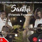 Sathi by Swoopna Suman official music video released ft. Kiran Nepali