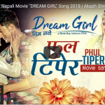 "Phul Tipera movie song from the movie ""Dream Girl"" ft. Akash Shrestha, Wilson and Ashma"